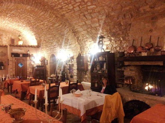 Agriturismo il Bastione: Il ristorante interno