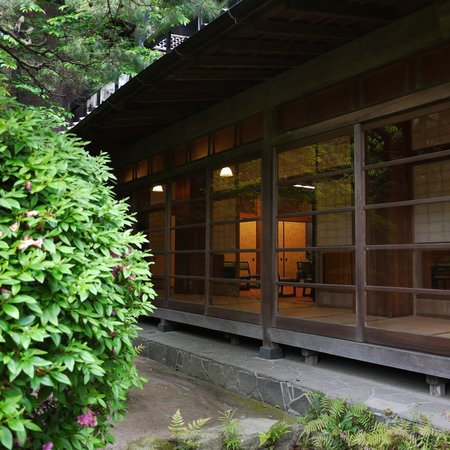 Daimaru Betso: 庭からの眺め