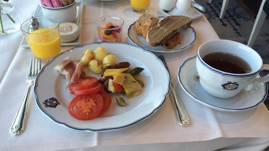 Grand Hotel: 朝食