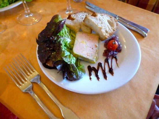 Restaurant Le Saloir Vigneron: Foie Gras de Canard Maison et ses Toasts