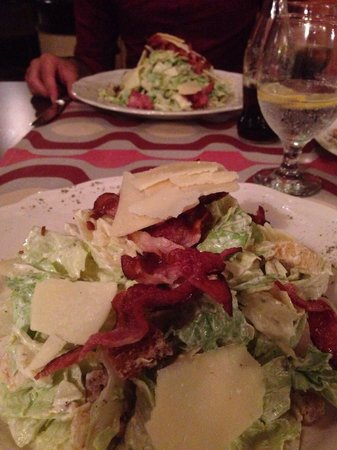 The Library Hotel Wellness Retreat: Caesar salad