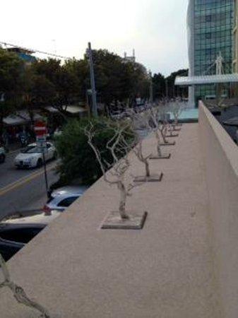 Ferretti Beach Hotel : balconcino