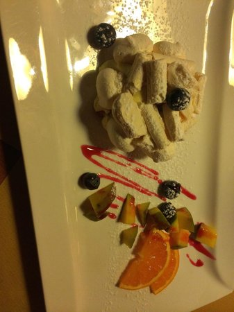 Enoteca Segreta: Dessert excellent de Vérone