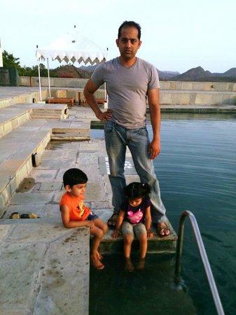 RAAS Devigarh : pool side