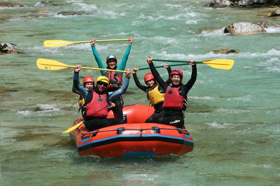SPORT MIX: A lot of fun on Soca river