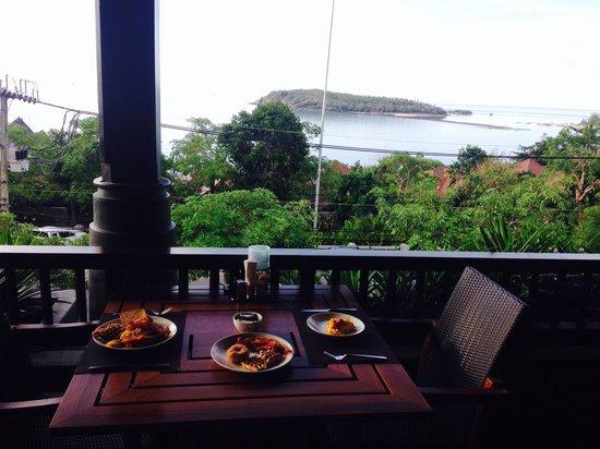 Nora Buri Resort & Spa: Breakfast view