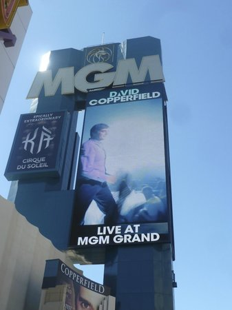 MGM Hotel - David Copperfield
