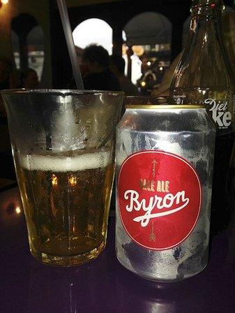 Byron Earls Court: Tienen su propia cerveza