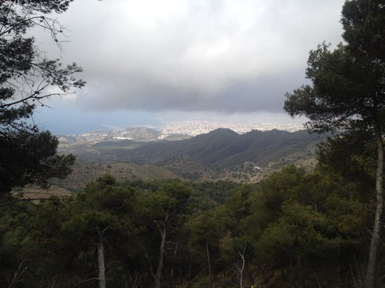 Bike2Malaga - Tours & Rentals: Amazin view over the Malaga