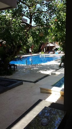 Rama Garden Hotel Bali : pool view from room