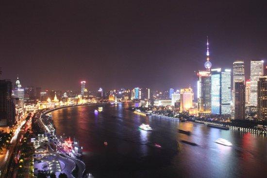 Hotel Indigo Shanghai on the Bund: Vistas desde la habitacion