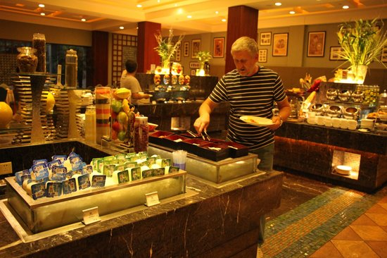 Tianfu Sunshine Hotel : В ресторане