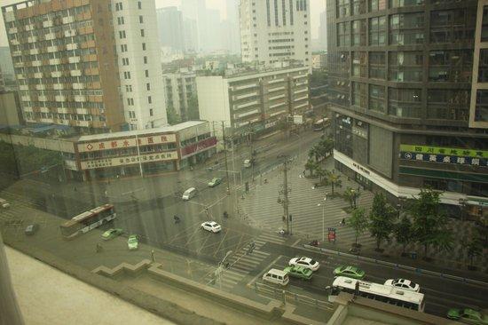 Tianfu Sunshine Hotel : Вид из номера