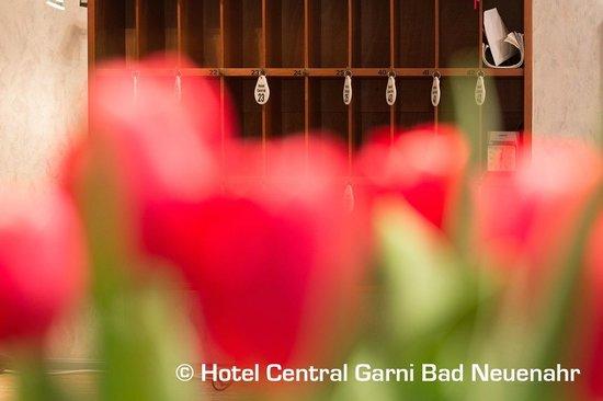 Hotel Central Garni: Rezeption