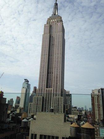 Marriott Vacation Club Pulse, New York City: Vue de la terrasse