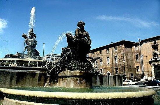 Basilica di Santa Maria degli Angeli e dei Martiri: The Bronze Comely Nymphs of Piazza della Repubblica