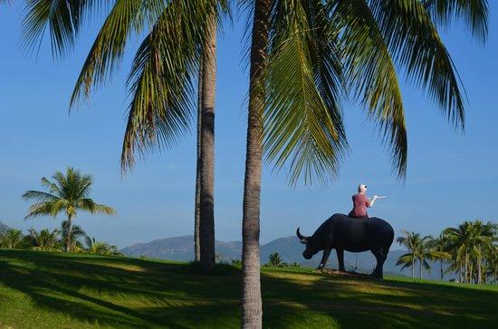 Diamond Bay Resort & Spa: Поле для гольфа