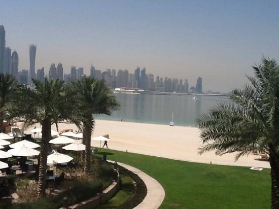 Fairmont The Palm, Dubai: la spiaggia