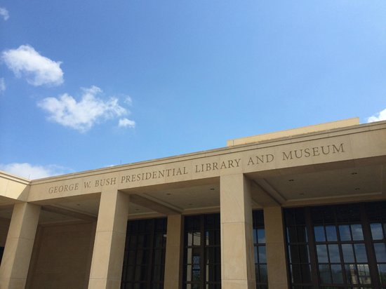 The George W. Bush Presidential Library and Museum: Entrance