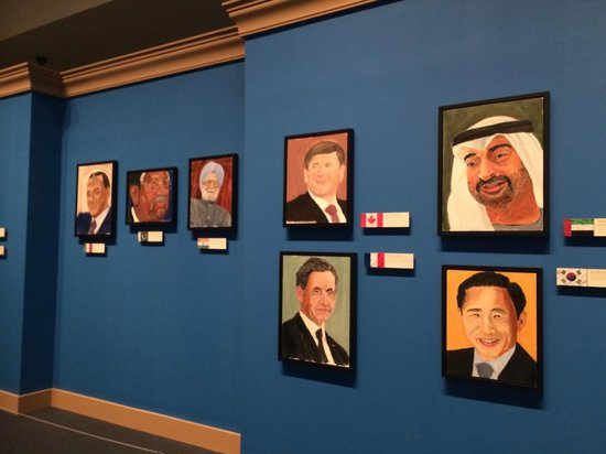 The George W. Bush Presidential Library and Museum: Portraits