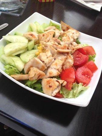 chicken salad at Presa