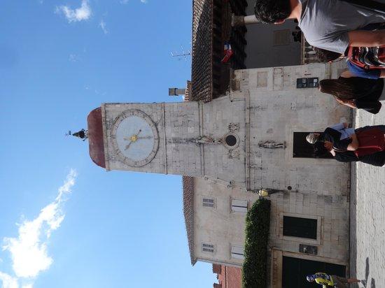 Weltkulturerbestätte Trogir: Main square