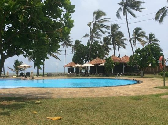 Club Hotel Dolphin : the quiet pool area
