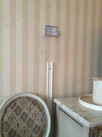 Park Lane Hotel : Old TV mount?
