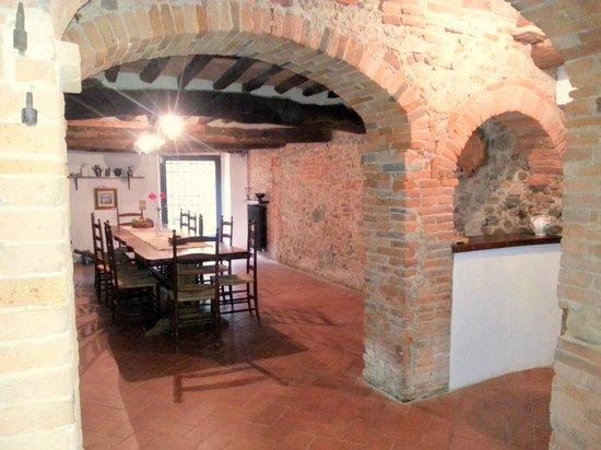 Antica Casa Naldi: in the basement room