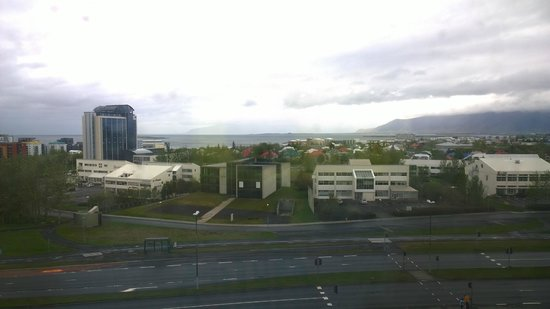 Hilton Reykjavik Nordica : View from room