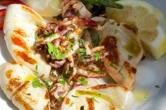 Da Vincenzo: Grilled squid
