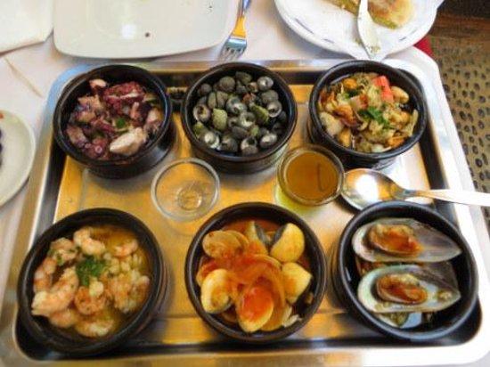 Melia Madeira Mare Resort & Spa: Seafood Tapas
