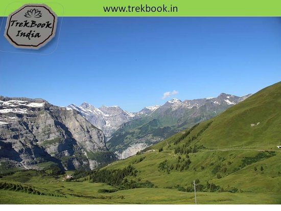 Jungfrau: green over white