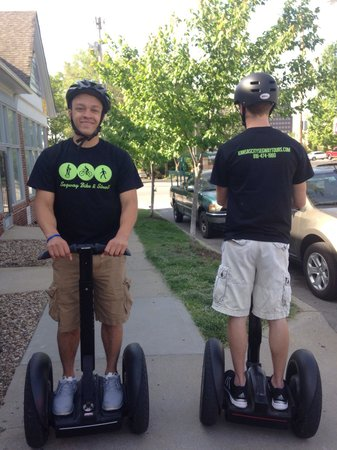 Segway, Bike & Stroll: More team members.