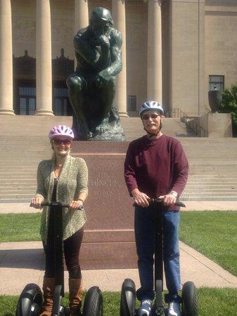 Segway, Bike & Stroll: Free spirited Segwayers