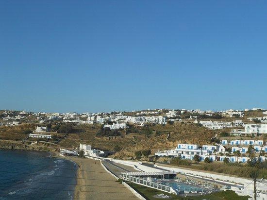 Akrotiraki: The view
