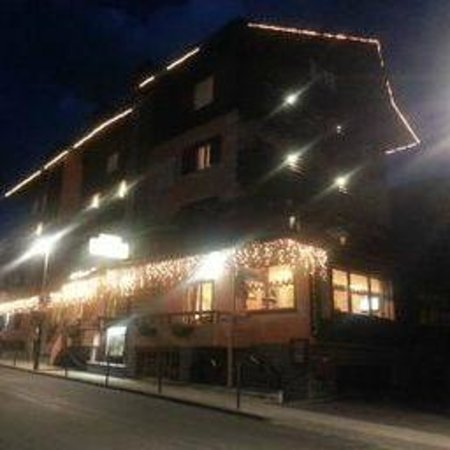 Hotel Funivia: The Funivia at night
