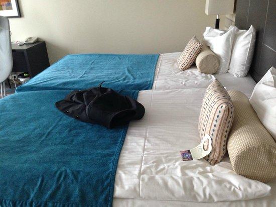 Thon Hotel Bristol Stephanie : Beds