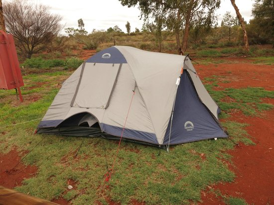 Ayers Rock Campground : the modern palace