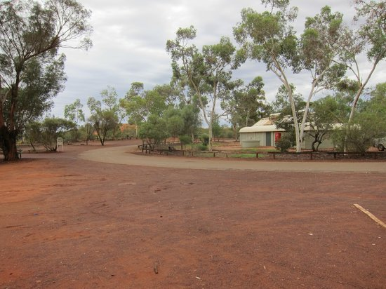 Ayers Rock Campground : toilet blocks