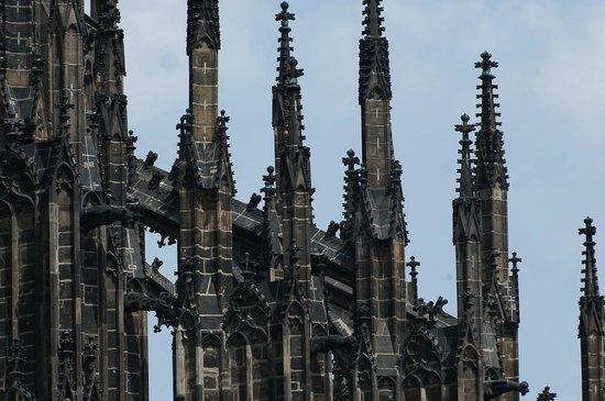 St. Vitus Cathedral: Шпили