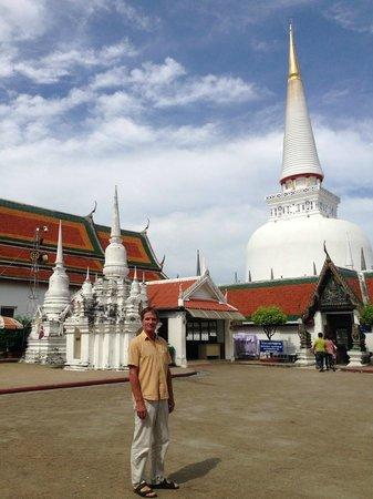 Phra Mahathat Woramaha Wiharn: ein schöner Tag