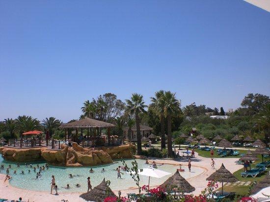 SENTIDO Phenicia: Vu de la chambre piscine