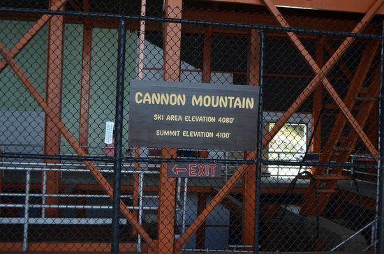 Cannon Mountain Aerial Tramway : Summit Elevation