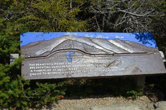 Cannon Mountain Aerial Tramway : Mountain Range view