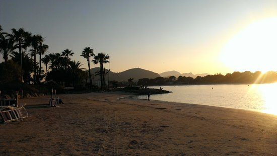 Globales Condes de Alcudia: Beautiful beach