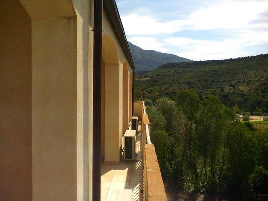 La Valle del Cedrino: Vista dal balcone