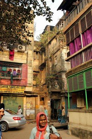Calcutta Photo Tours : apartment complex, Culture Kaleidoscope tour