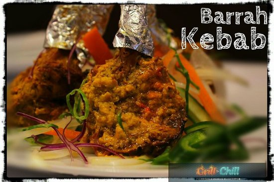 Grill and Chill: Barrah Kebab (Marinated Lamb Cutlets Cooked Slowly in Clay Oven)