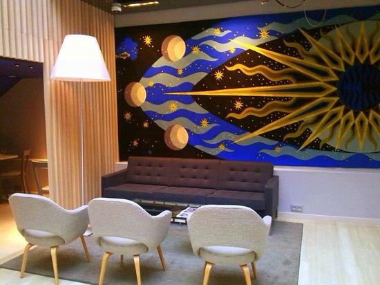 Libertel Gare de l'Est Français : breakfast en lounge